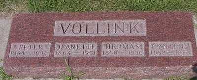 VOLLINK, PETER - Sioux County, Iowa | PETER VOLLINK