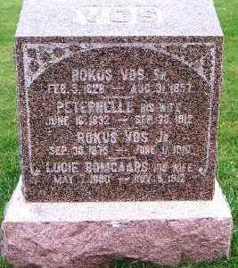 VOS, ROKUS JR. (1875-1910) - Sioux County, Iowa | ROKUS JR. (1875-1910) VOS