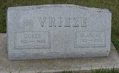 VRIEZE, DORES - Sioux County, Iowa | DORES VRIEZE