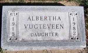 VUGTEVEEN, ALBERTHA - Sioux County, Iowa | ALBERTHA VUGTEVEEN