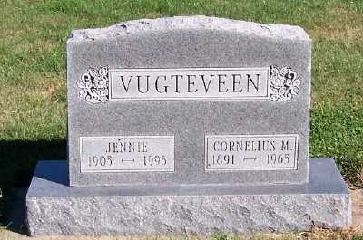 VUGTEVEEN, JENNIE - Sioux County, Iowa | JENNIE VUGTEVEEN