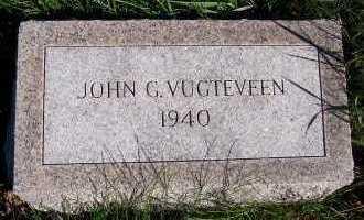 VUGTEVEEN, JOHN G. - Sioux County, Iowa | JOHN G. VUGTEVEEN