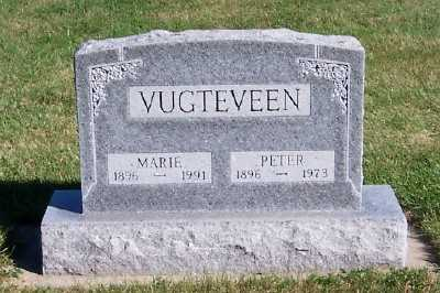 VUGTEVEEN, PETER - Sioux County, Iowa | PETER VUGTEVEEN