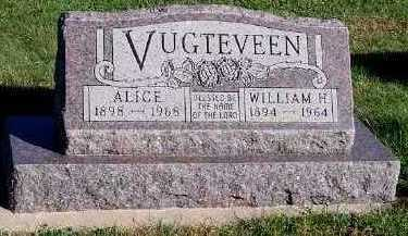 VUGTEVEEN, ALICE - Sioux County, Iowa | ALICE VUGTEVEEN