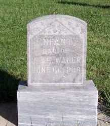 WAJER, INFANT DAUGHTER OF J. & E. - Sioux County, Iowa | INFANT DAUGHTER OF J. & E. WAJER