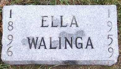 WALINGA, ELLA - Sioux County, Iowa | ELLA WALINGA