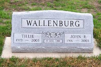 WALLENBURG, JOHN R. - Sioux County, Iowa | JOHN R. WALLENBURG