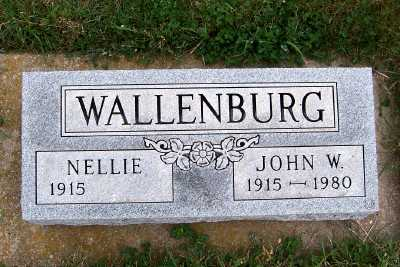 WALLENBURG, NELLIE - Sioux County, Iowa | NELLIE WALLENBURG