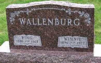WALLENBURG, RING - Sioux County, Iowa | RING WALLENBURG