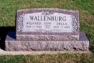 WALLENBURG, DELLA - Sioux County, Iowa | DELLA WALLENBURG