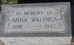 WALLINGA, ANNA - Sioux County, Iowa | ANNA WALLINGA