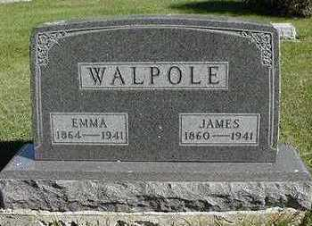 WALPOLE, EMMA (MRS. JAMES) - Sioux County, Iowa | EMMA (MRS. JAMES) WALPOLE