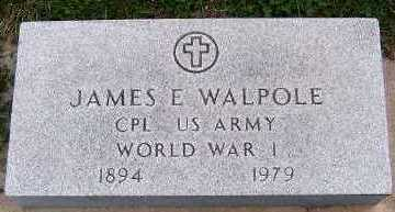 WALPOLE, JAMES E. - Sioux County, Iowa | JAMES E. WALPOLE