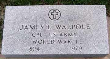 WALPOLE, JAMES E. - Sioux County, Iowa | JAMES E. WALPOLE