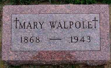 WALPOLE, MARY - Sioux County, Iowa | MARY WALPOLE