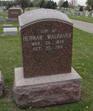WALRAVEN, HERMAN MRS. (MOTHER) - Sioux County, Iowa   HERMAN MRS. (MOTHER) WALRAVEN