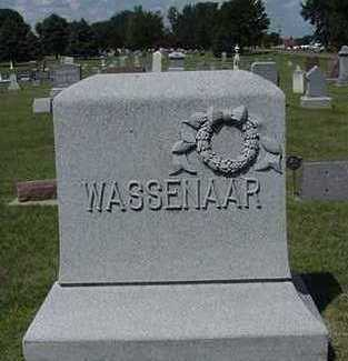 WASSENAAR, HEADSTONE - Sioux County, Iowa | HEADSTONE WASSENAAR