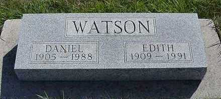 WATSON, EDITH - Sioux County, Iowa | EDITH WATSON