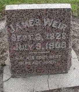WEIR, JAMES - Sioux County, Iowa | JAMES WEIR