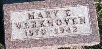 WERKHOVEN, MARY E. - Sioux County, Iowa | MARY E. WERKHOVEN