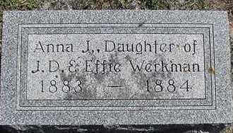 WERKMAN, ANNA J. - Sioux County, Iowa | ANNA J. WERKMAN
