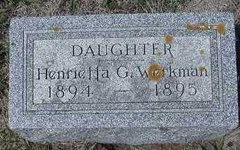 WERKMAN, HENRIETTA G. - Sioux County, Iowa | HENRIETTA G. WERKMAN