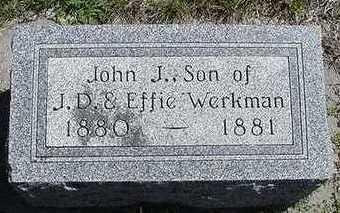 WERKMAN, JOHN J. - Sioux County, Iowa | JOHN J. WERKMAN