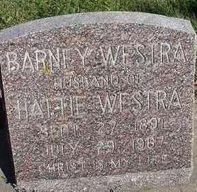 WESTRA, BARNEY  D.1967 - Sioux County, Iowa | BARNEY  D.1967 WESTRA