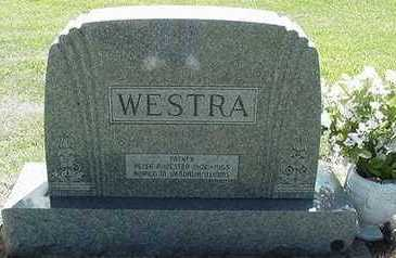 WESTRA, HEADSTONE - Sioux County, Iowa | HEADSTONE WESTRA