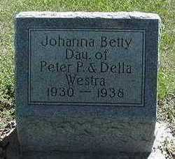 WESTRA, JOHANNA BETTY - Sioux County, Iowa | JOHANNA BETTY WESTRA