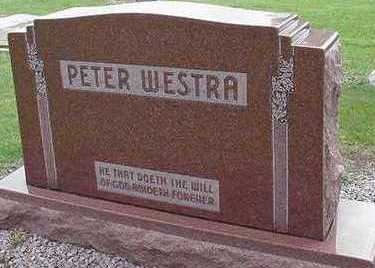 WESTRA, PETER - Sioux County, Iowa | PETER WESTRA