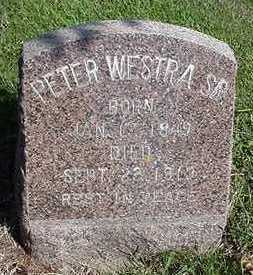 WESTRA, PETER SR. - Sioux County, Iowa | PETER SR. WESTRA