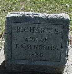 WESTRA, RICHARD S. - Sioux County, Iowa | RICHARD S. WESTRA