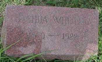 WHITNEY, JOSHUA - Sioux County, Iowa   JOSHUA WHITNEY
