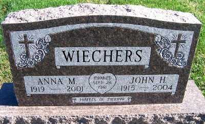 WIECHERS, ANNA M. - Sioux County, Iowa | ANNA M. WIECHERS