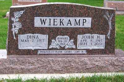WIEKAMP, JOHN H. - Sioux County, Iowa | JOHN H. WIEKAMP