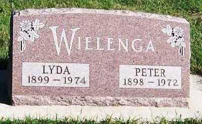 WIELENGA, PETER - Sioux County, Iowa | PETER WIELENGA