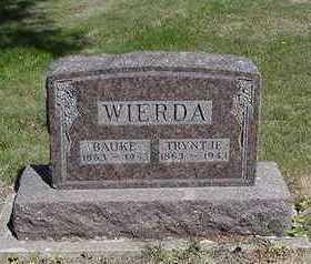 WIERDA, TRYNTJE - Sioux County, Iowa | TRYNTJE WIERDA