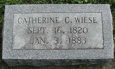 WIESE, CATHERINE C. - Sioux County, Iowa | CATHERINE C. WIESE