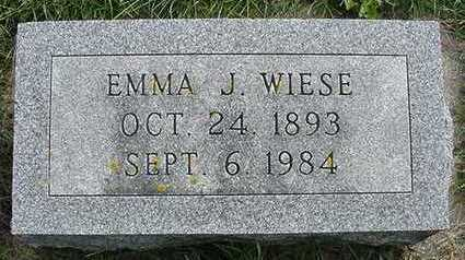 WIESE, HEADSTONE - Sioux County, Iowa | HEADSTONE WIESE