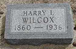 WILCOX, HARRY I. - Sioux County, Iowa | HARRY I. WILCOX