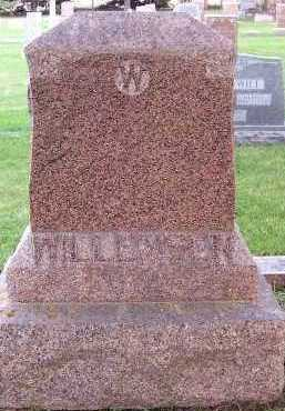 WILLEMSEN, HEADSTONE - Sioux County, Iowa | HEADSTONE WILLEMSEN