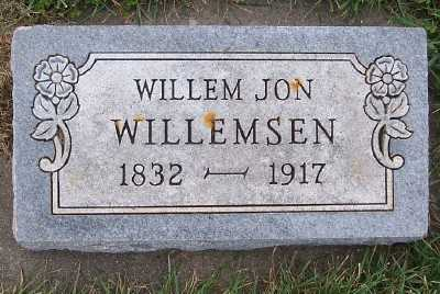 WILLEMSEN, WILLEM JON - Sioux County, Iowa | WILLEM JON WILLEMSEN