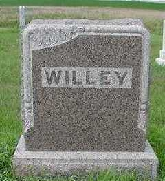 WILLEY, HEADSTONE - Sioux County, Iowa | HEADSTONE WILLEY
