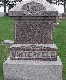 WINTERFELD, HEADSTONE - Sioux County, Iowa | HEADSTONE WINTERFELD