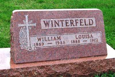 WINTERFELD, LOUISA - Sioux County, Iowa | LOUISA WINTERFELD