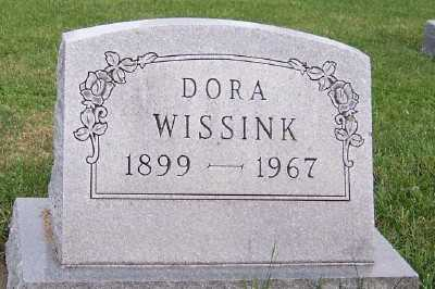 WISSINK, DORA - Sioux County, Iowa | DORA WISSINK