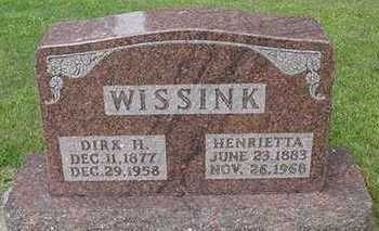 WISSINK, DIRK - Sioux County, Iowa | DIRK WISSINK