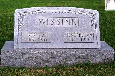 WISSINK, HENDRIK JAN - Sioux County, Iowa | HENDRIK JAN WISSINK