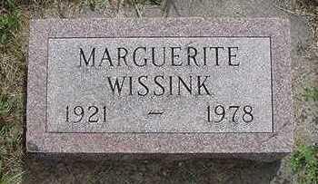 WISSINK, MARGUERITE - Sioux County, Iowa | MARGUERITE WISSINK